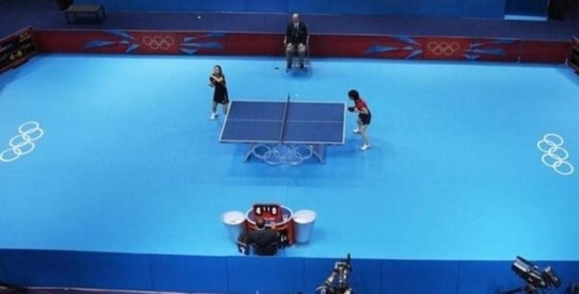 medidas para jugar a ping pong