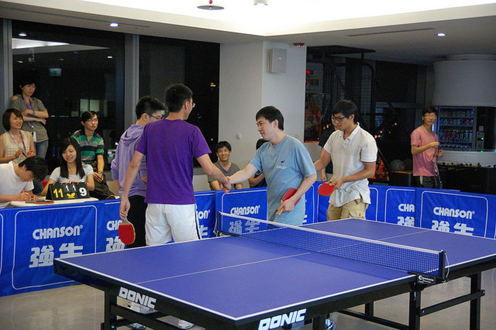ping pong relacion