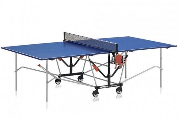 Disfruta en tu casa con la mesa de ping pong Kettler Spin 1.0 Indoor