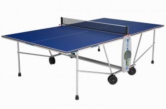 La mesa de ping pong Cornilleau Sport 100, sencilla pero completa