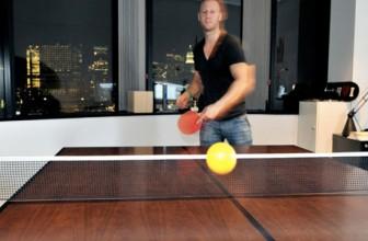 Mesa de ping pong de oficina