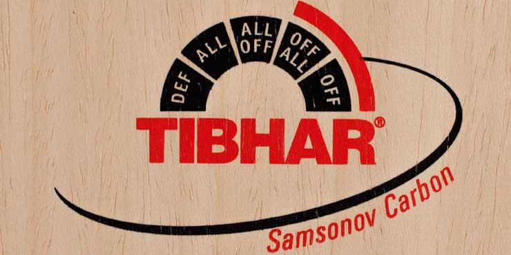 Maderas para tenis de mesa Tibhar