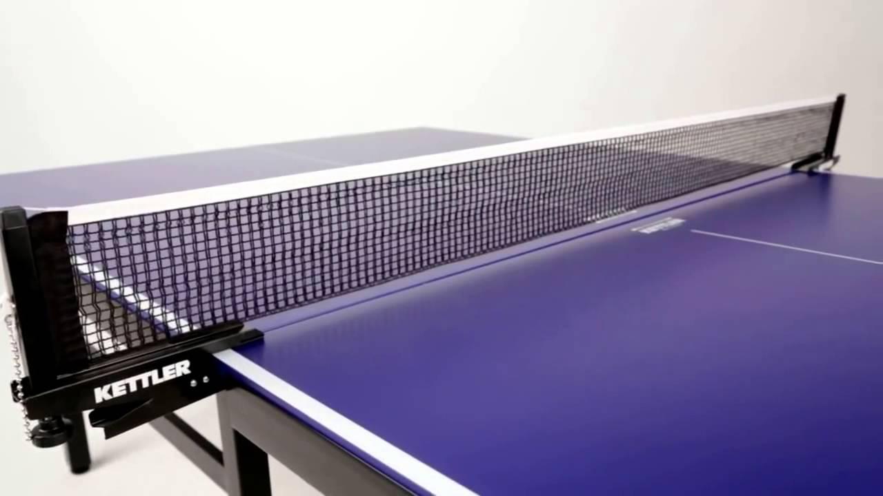 Comparativa Mesas de Ping Pong Kettler Spin 1 Indoor vs Cornilleau Sport 100